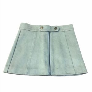 Witchery Girls Faux Suede Mini Skirt
